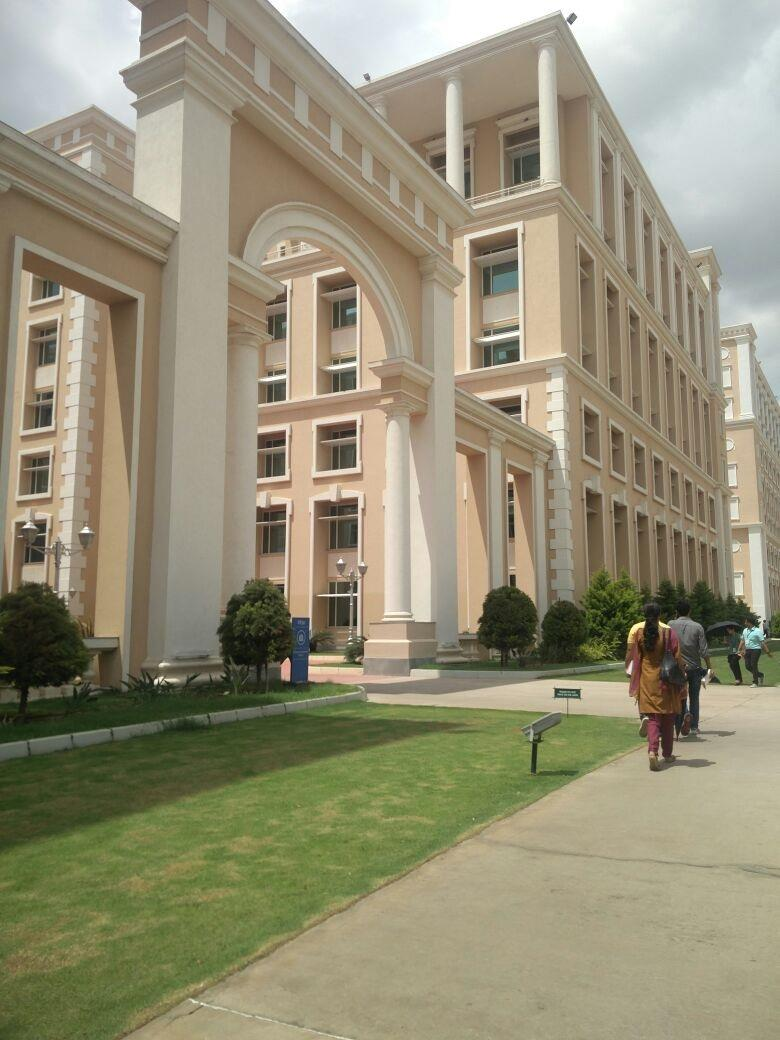 Software Development Block in Infosys at Mysore campus