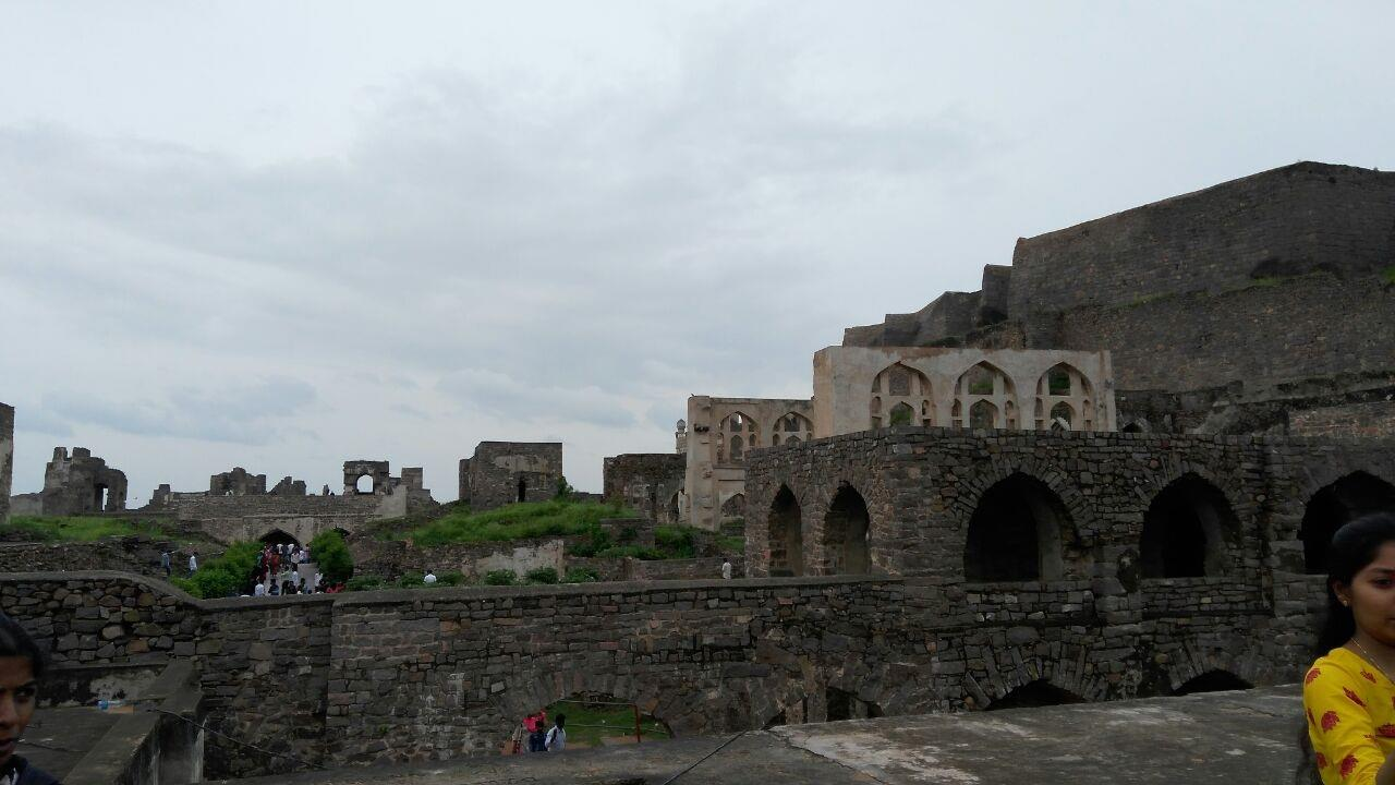 An Amazing view of Golconda Fort,Hyderabad