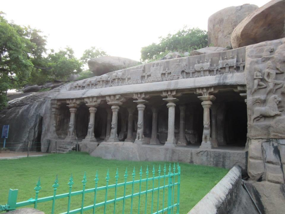 Cave Temple, Mahaballipuram