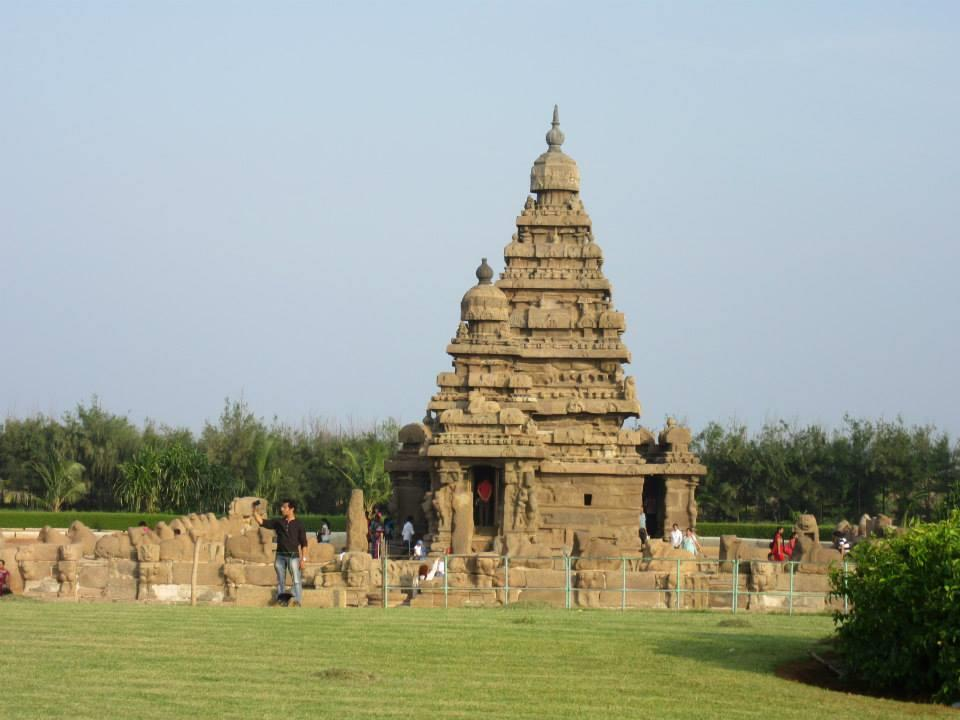 Shore Temple, Mahaballipuram
