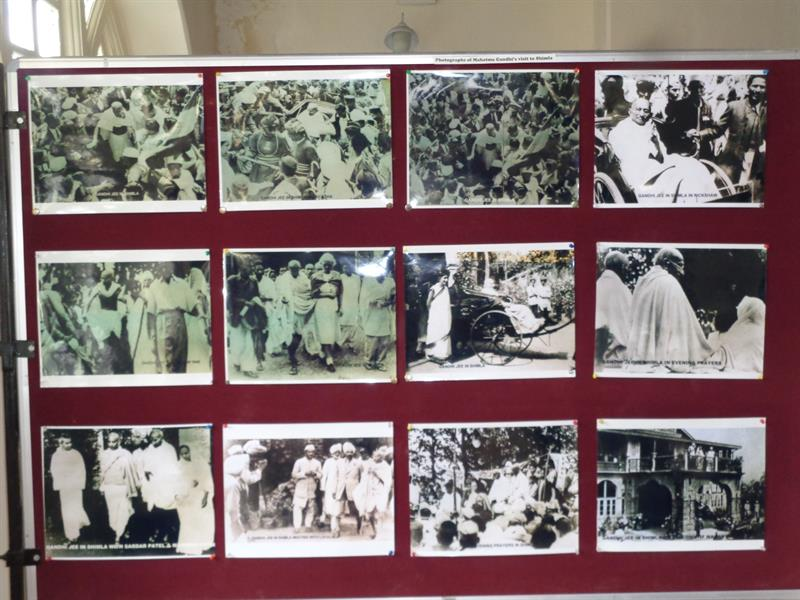 Rare photos gallery display in gaiety theatre, shimla