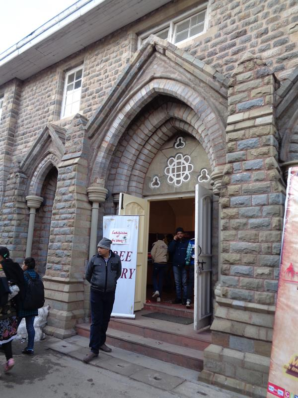 Gaiety theater  entrance, Shimla