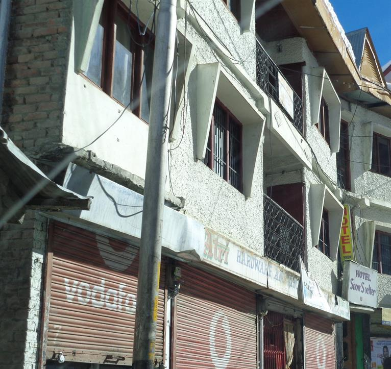 Local  market view of Shimla
