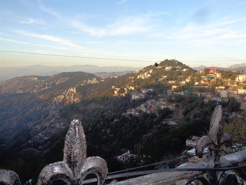 beatiful view -  shimla