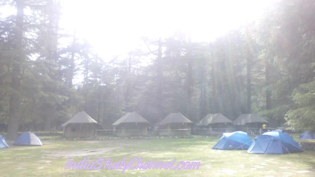 Kasol Camp sight