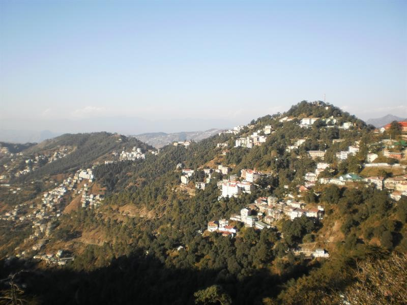 Whole view of shimla