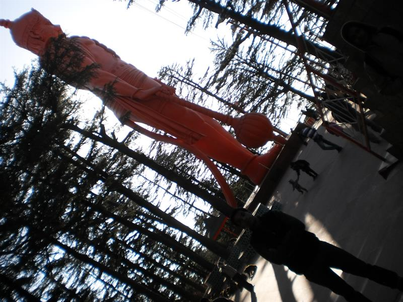 100 feet statue of hanuman shimla