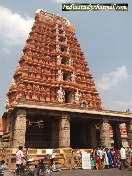 Nanjangud Temple Entrance