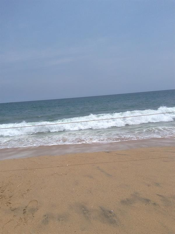 Poovar island - Golden sand Beach