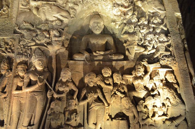 Art of Ajantha cave temple