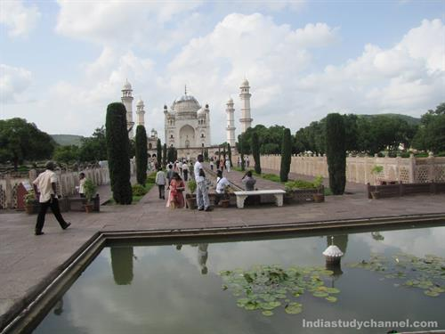 Beautiful View of Mini Taj Mahal, Aurangabad