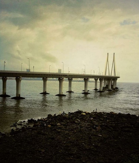 The sea link, Bandra West
