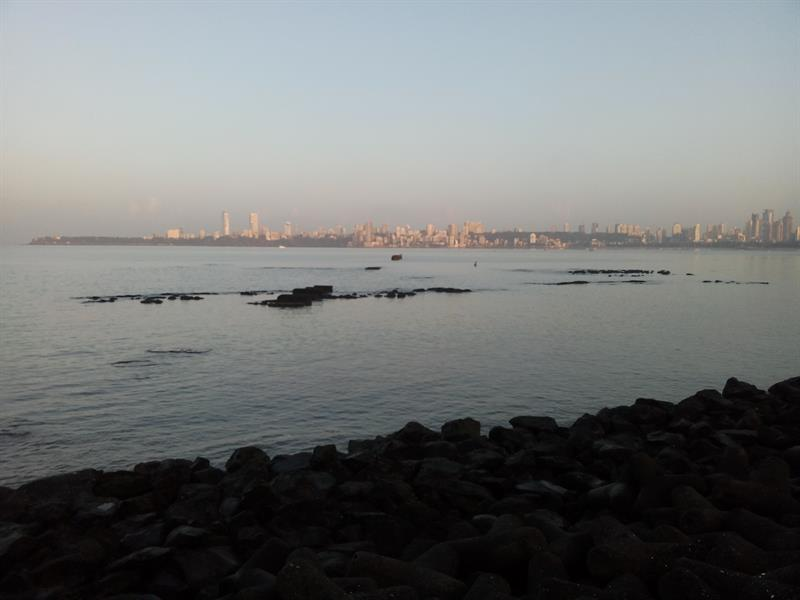 View of Sea from Marine drive