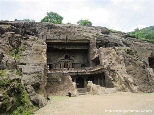 Shiva Temple in Ellora Caves