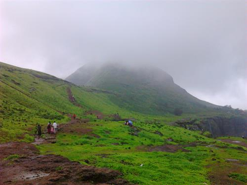 Brahmagiri hill at Trambakeshwar in Nasik city