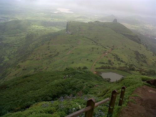 Trekking at Anjaneri hill