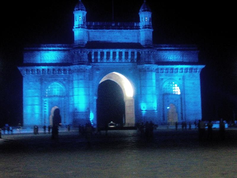 Gateway of India, on the Arabian Sea shores a must visit tourist attraction of Mumbai