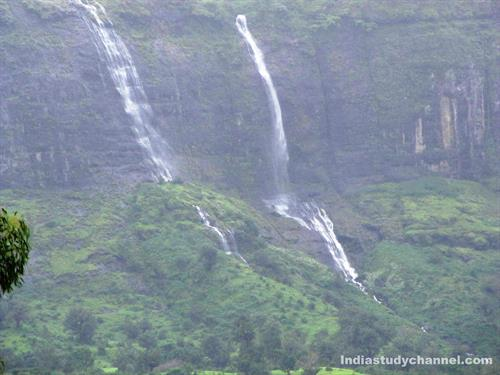 Beautiful Waterfalls near Trimbakeshwar Temple, Nashik
