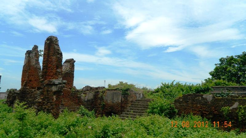 Ganjam Potagarh, the ruined fort of Odisha