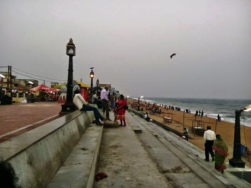 Odishas famous beach Gopalpur-on-sea town