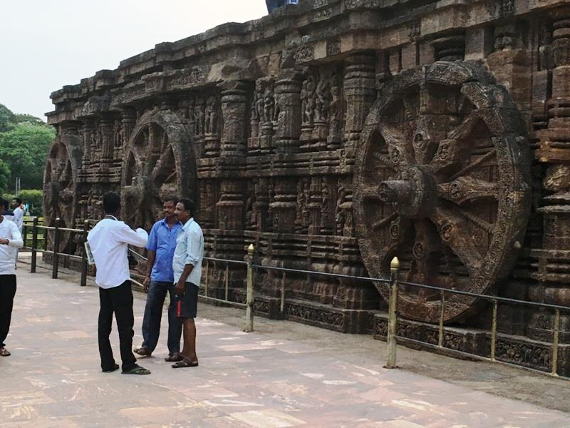 Konark Sun Temple - Exquisite Wheel of the Chariot