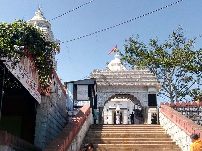 Front View of Jagannath temple of Koraput