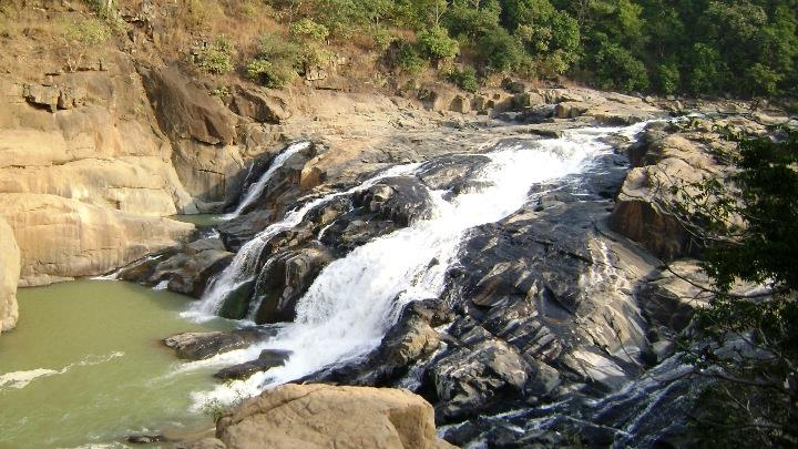 Putudi Waterfall at Phulbani, Odisha