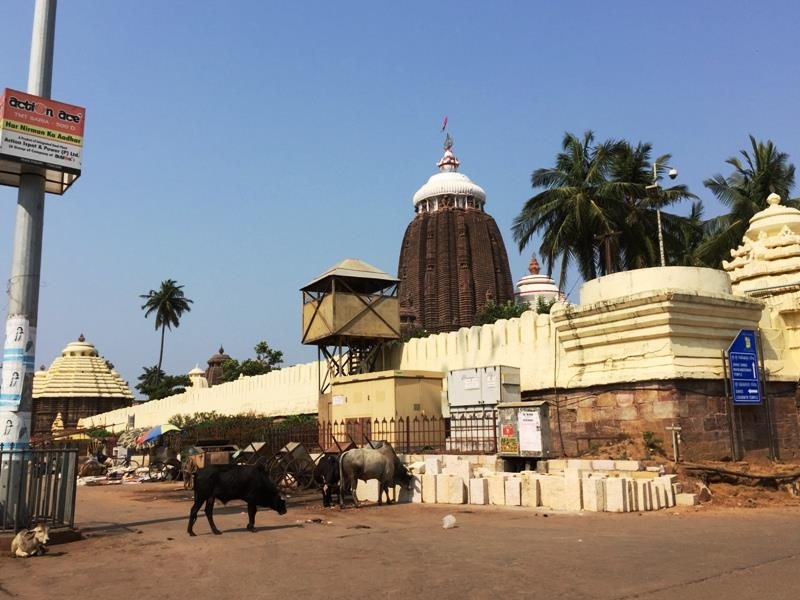 Lord Jagannath Temple of Puri, Odisha