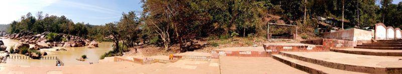 Panorama view of Gupteswar Gupta Ganga Peeth, Odisha