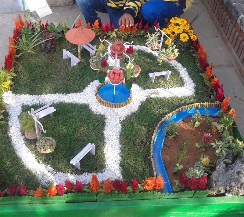 Project of theme gardening in 25th garden