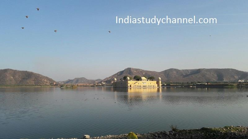 Breath taking view of JAl Mahal Jaipur,Rajasthan.