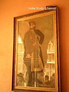 Portrait in the City Palace, Jaipur