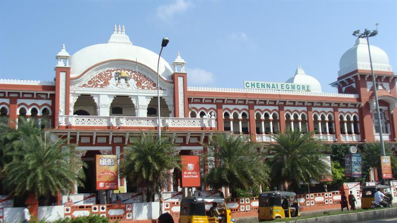 Egmore Railway Station, Chennai, India