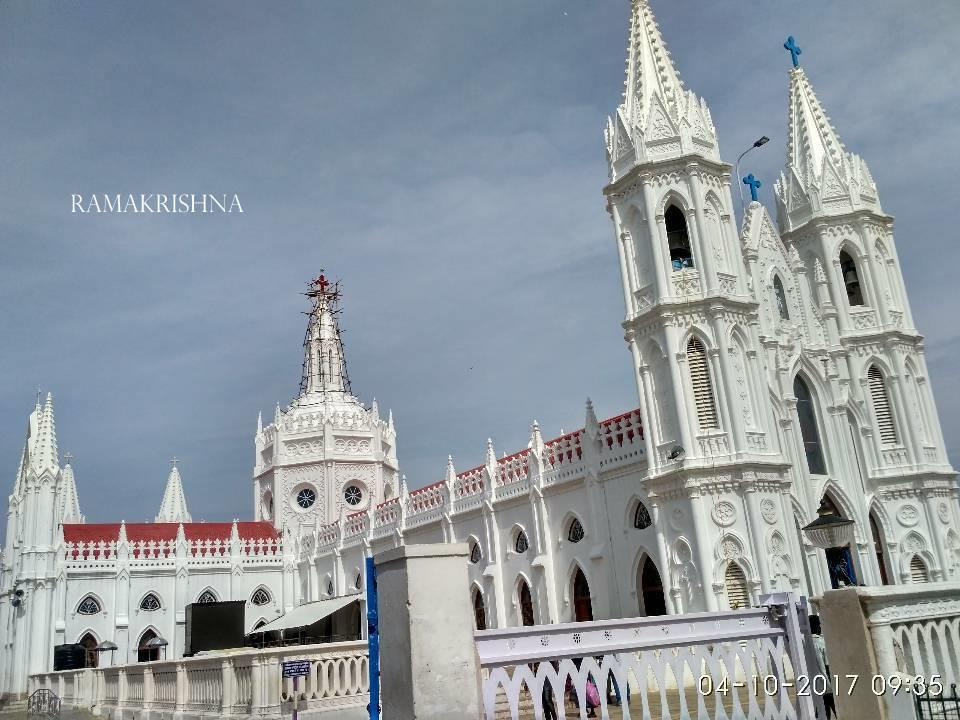 Shrine Bascilica of our Lady Health, Vailankanni, Nagapattinam Dist., Tamilnadu