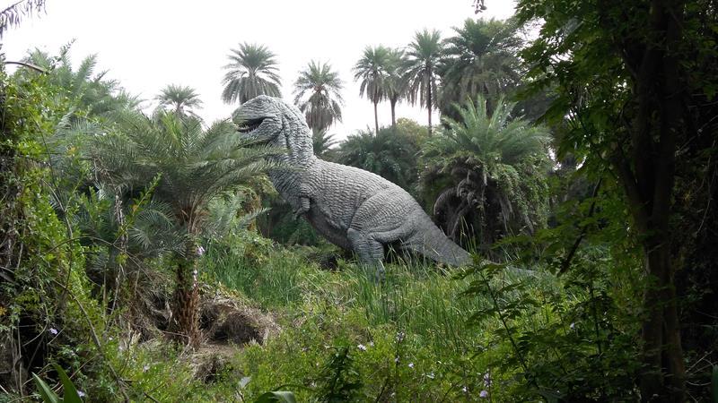 Dinosaurs in Nehru Zoo...