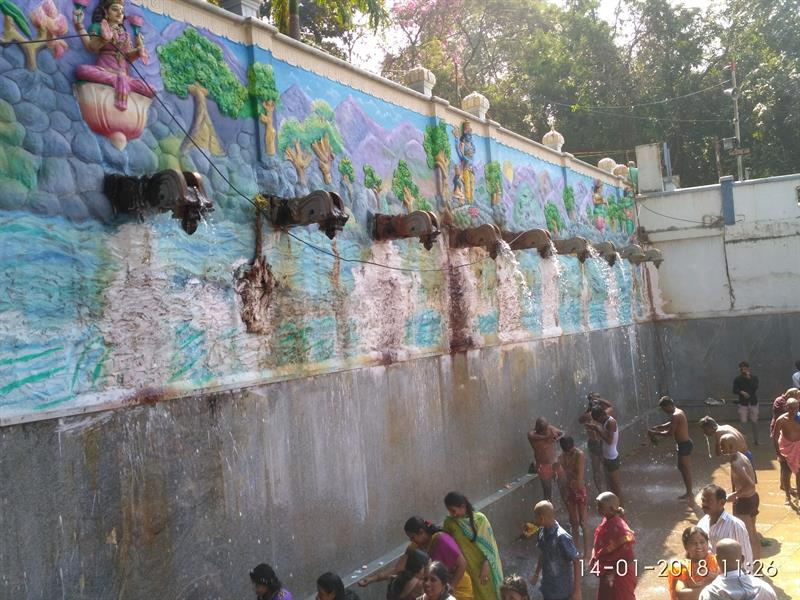 Papavinasanam Teertham in Tirumala, Chittor District, A.P.