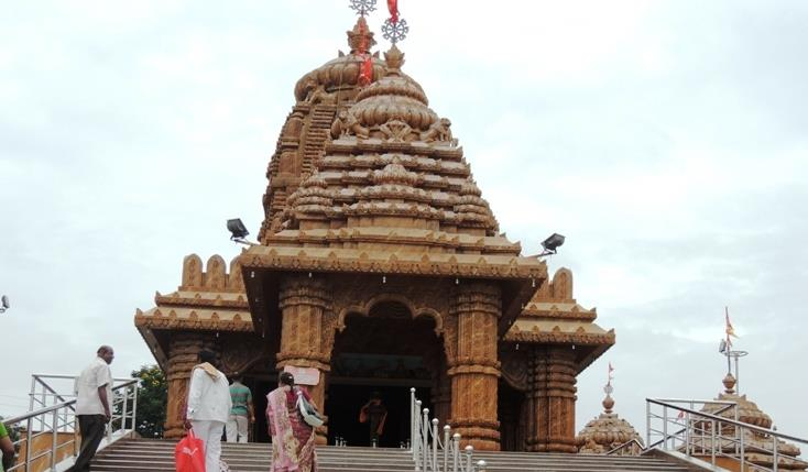 Lord Jagannath Temple at Banjara Hills Hyderabad