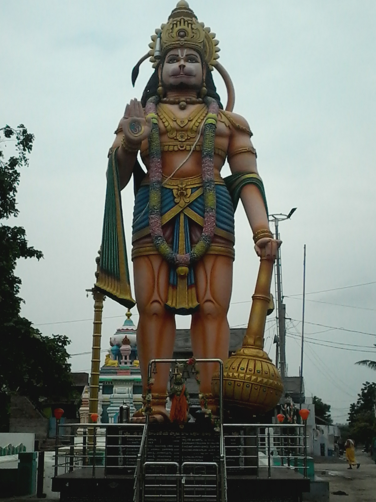 Sri Anjaneya Swamy - Statue of Lord Hanuman, Chandaluru village of Prakasam District, Andhra Pradesh