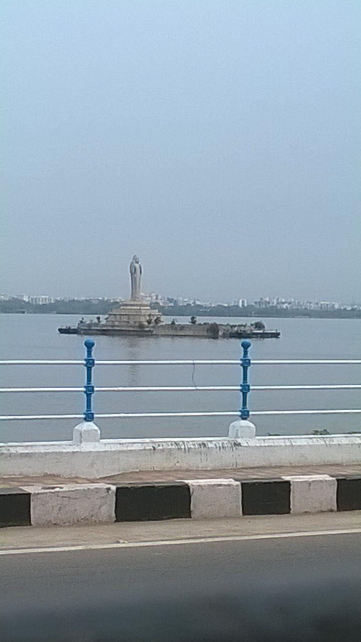 Buddha Statue in Husain Sagar,Hyderabad
