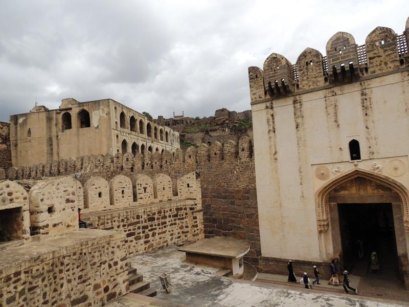 Golconda (Golkonda) Fort of Hyderabad, Telangana