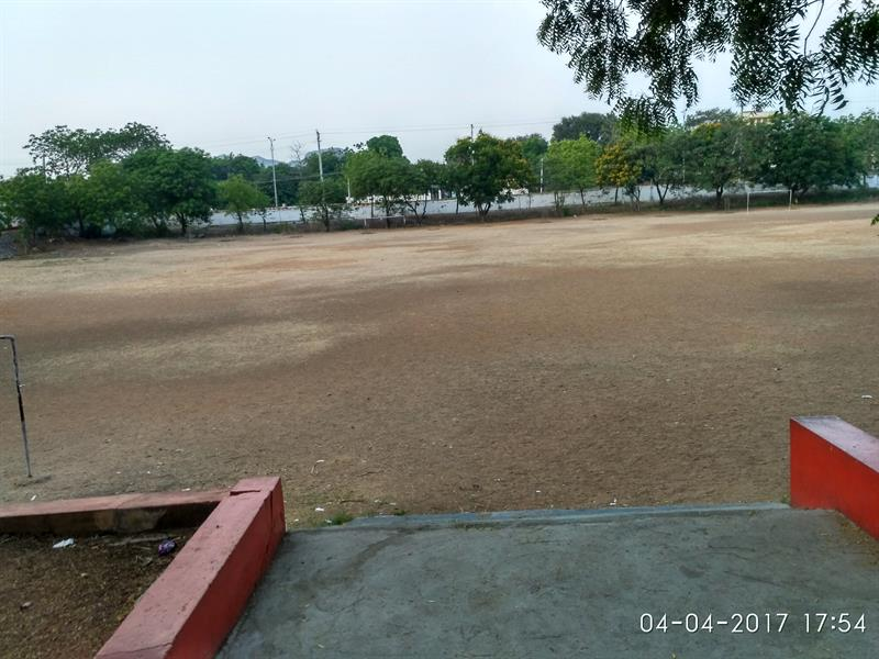 Loyola Public School, Big Play Ground for Upper Primary Children, Loyola Nagar, Guntur, A.P., India