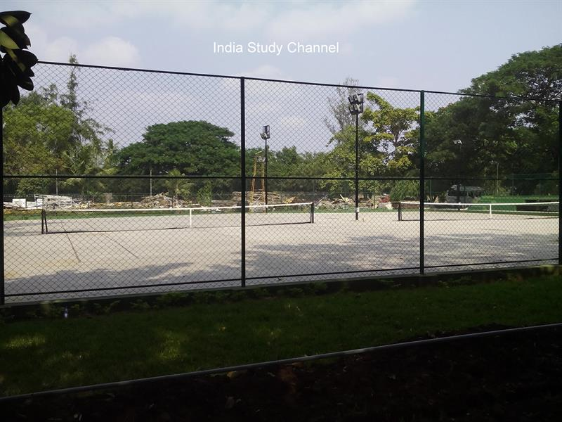Tennis Court at KL University