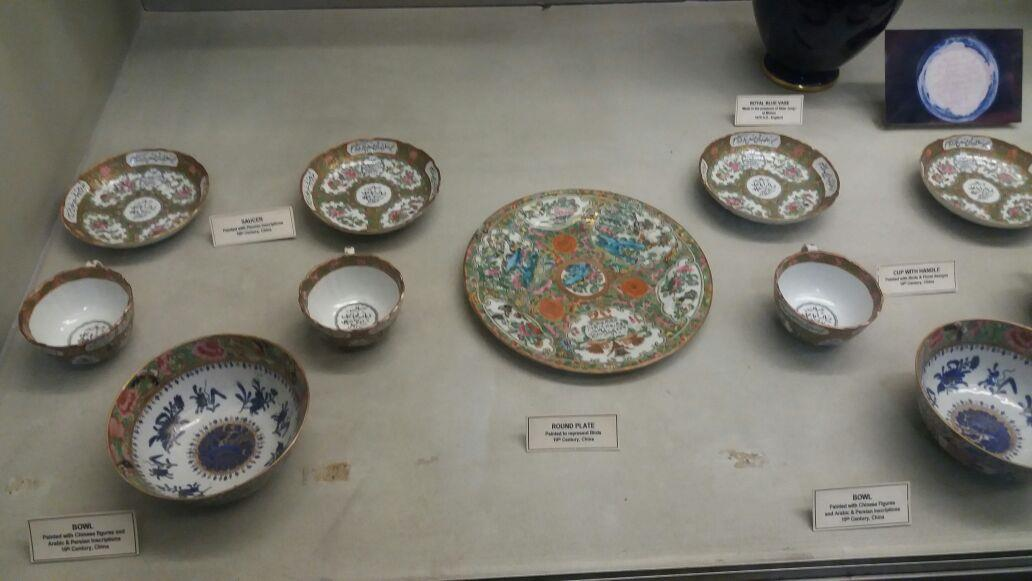 Porcelain Articles of 19th Century China as seen in Salar Jung Museum, Hyderabad
