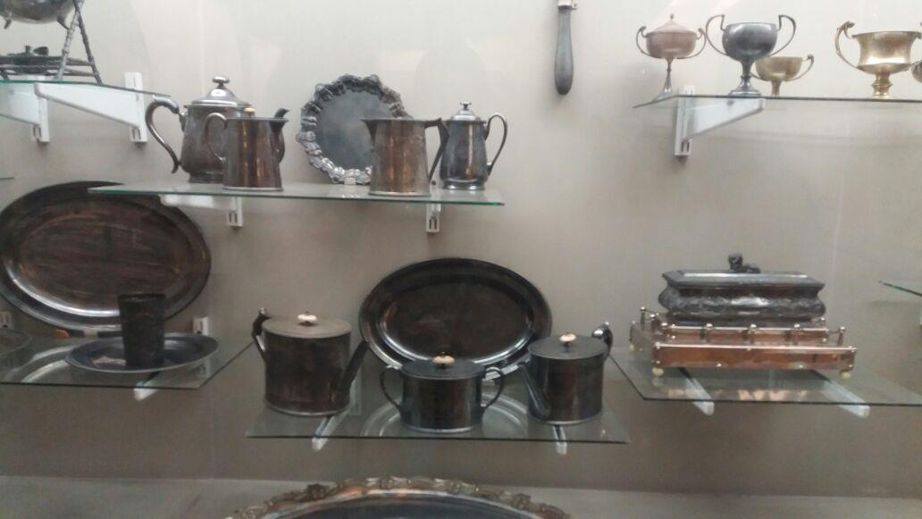 European styled utensils used in kitchen as seen in Salarjung Museum, Hyderabad