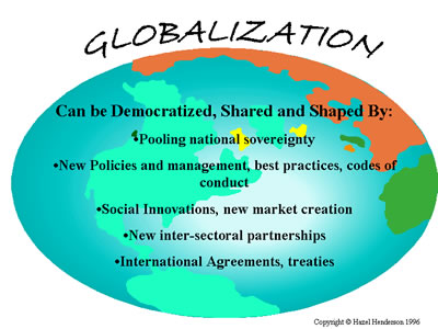 the impact of globalization on the The term globalization has been used to describe different countries join for  economic political and educational equality the countries joining.