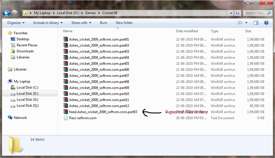 How to repair corrupted  rar or  zip files