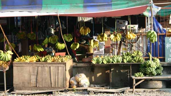 A Road side Banana Stall