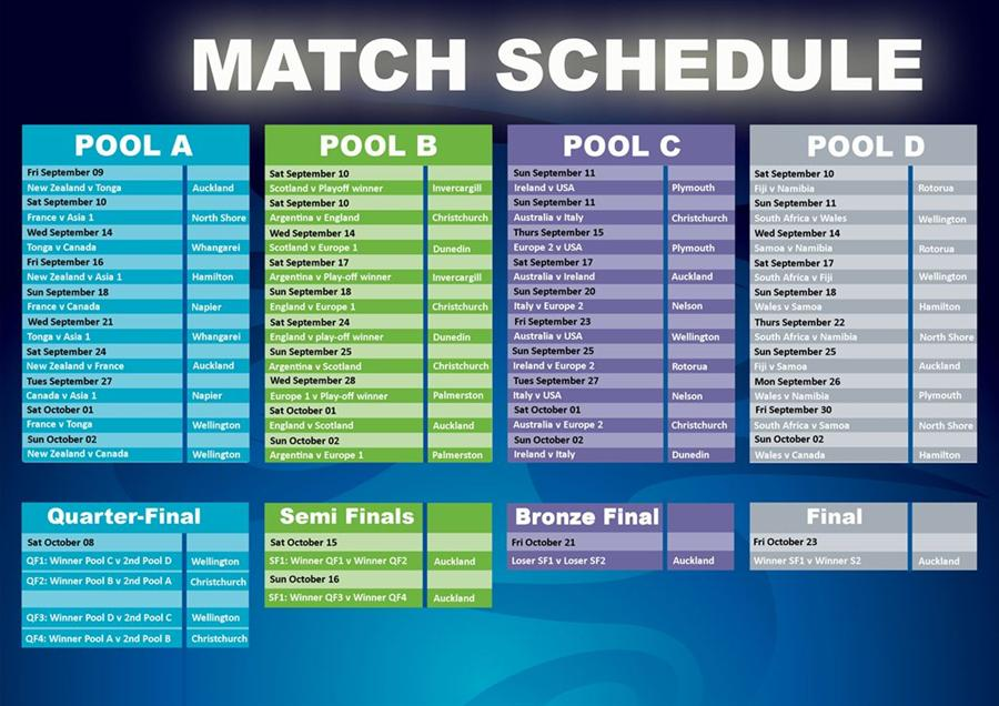 rugby world cup schedule - photo #7