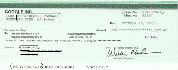 how to write a cheque in india
