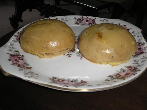 Home baked buns